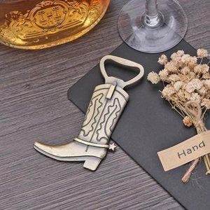 Apri Bottiglia di birra in lega Decorazione di nozze favori stivali creativi piuma a forma di cucina domestica facile Bbywol