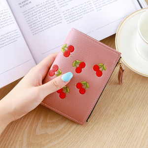 Fashion Folding Luxurys Designers Mini Women Ladies Bag Bags Kids Short Sale Wallet Cute Coin Purse 2021 Hot Solds Card Njtau
