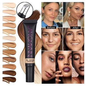 Concealer Cream Long Lasting Mineral Foundation Matte Base Professinal Makeup Cover Eye Dark Circle Removing Face Smooth Texture
