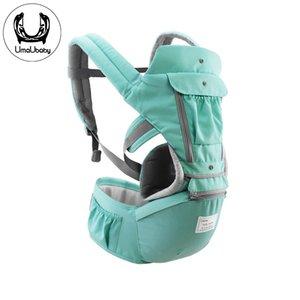 Umaubaby portador de bebê multifuncional banquinho infantil de cintura ambientalmente materiais recém-nascidos confortável viagens flexão respirável B1205