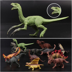 XMY 12Styles Mini Dinosaur Model Children Educational Toys Cute Simulation Animal Small Figures For Boy Gift For Kids Toys