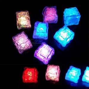 LED-Leuchten Polychrome Flash Party Lichter LED Glühende Eiswürfel blinkt Blinkende Dekor Light Up Bar Club Hochzeit PPD2854