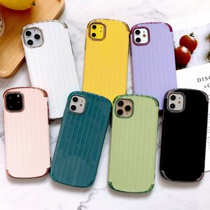 Luxury Tpu Luggage Case With Curved Plating Frame Fhx-4k Phone Case For Iphone 7 8 Plus X Xr Xs Max 11 11pro sqcKxx
