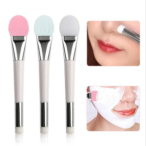 Silicone Brush For Masks New Double Ended Soft Foundation Mud Mixing applicator Facial Face Mask Brush PPD3832