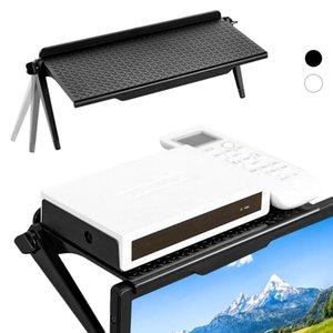 متعدد الوظائف قابل للتعديل تخزين رف التلفزيون شاشة lcd شاشة رف الشاشة تخزين قوس شاشة أعلى الجرف 1 قطع