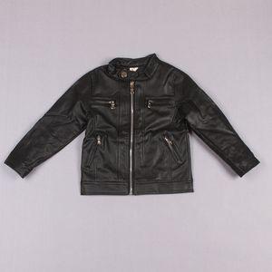 Clearance sale Kids Leather Jackets Child Clothes Kids Clothing New Autumn Coat Boys Jacket Children Outwear Boy Pu Leather Jacket Z205