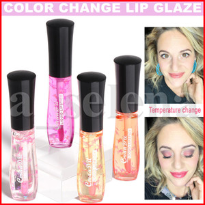 CmaaDU Lip Makeup Moisturizing Lip Gloss Temperature Color Change Lip Glaze Waterproof Long Lasting Tint Liquid Lipstick Natural lipgloss