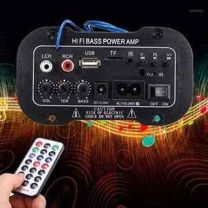 Автомобиль Audio 50W Bluetooth-динамик Цифровой сабвуфер Hifi Bass Power Компьютерные колонки Поддержка будильник TF USB1