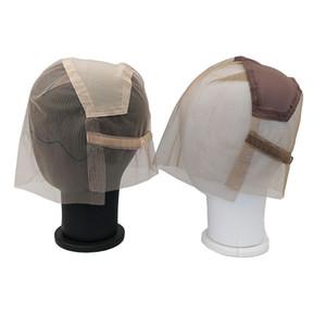 Gorra de peluca de encaje suizos transparente completa para hacer pelucas de encaje completo con correa ajustable personalizada su propio estilo de cabello