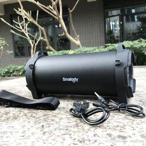 2019 Smalody Bluetooth Hoparlör Açık Kablosuz Stereo Yüksek Bas ile Kamp Computer TV Bar Hoparlörler için Taşıma Kayışı ile Iyi Soun