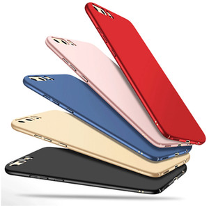 FRVSIMEM Sert Sırtlı Plastik Mat Durumda Huawei P8 P9 P10 Artı Lite 2017 Onur 9 6C 6A 6X 7X P Smart Nova
