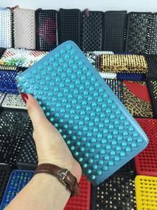 Designer purse women Holders wallets portefeuille pour homme men Real leather red color bottom fashion Wallets