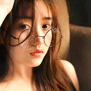 Olnylo-Mode-Metall-Anti-Blue-Brillen-Frauen-Frauen-große übergroße Brillenrahmen Nahegertes verschreibungspflichtiges Dioptrien UV400