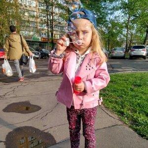 Chaquetas Chicas PU Jacket de 2-7 años de edad, cinturón de remache de moda, cuero de solapa, cuero de motocicleta de manga llena primavera y otoño1