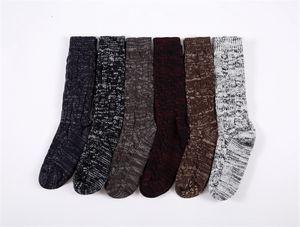 Cable socks,Women's Medium section socks,Adult over knee indoor socks ,Floor socks,Classic Knitted pattern