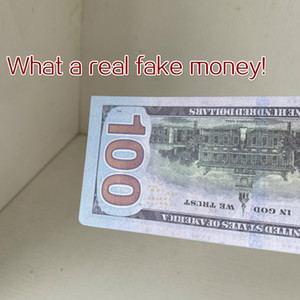 Viejos dólares estadounidense 100 dólares Fake Money Movies Pop New Dollars Bank Note Contado Prop Money Festive Fiesta Juegos Juguetes Colecciones Regalos