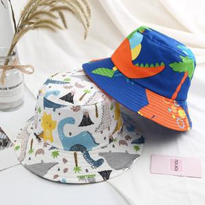 Bahar ve yaz bebek balıkçı şapka kız karikatür güneşlik erkek havzası kap güneş şapka moda bere şapka