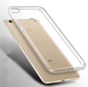 Caso de silicone para Xiaomi Mi 6x A2 8 Lite Mix 2S Max 3 Pro 5S Nota 3 Redmi Nota 5A Clear celular