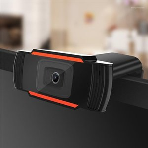 NEW Webcam 480p 720p 1080p USB Camera Rotatable Video Recording Web Camera with Microphone Network Live For PC Computer1