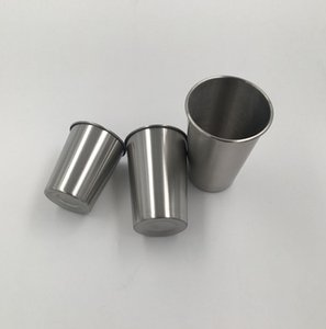 4 Sizes Beer Mug Multi Size Single Layer 304 Stainless Steel Water BottleCamping Outdoor Portable Office Gift Convenient Cup SEA WAY BWF3230