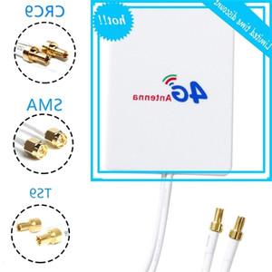 50W 3G LTE راوتر الطيران الخارجي 28DBI العمودي العمودي 4G الهوائي T9 CRC9 موصل الكابل الذكي