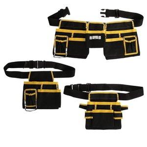Elektriker Werkzeugtasche Taille Pocket Utility Pouch Gürtel Lagerung Halter Organizer Y200324