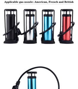 Mini Plastic Bicycle Pump Tire Inflator Accessories Mountain Bike Road Bike Portable High-Intensity Circulating Pump With Pressure Gauge