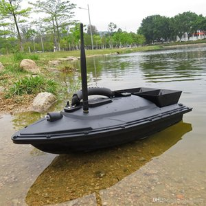 wholesale 2011-5 Fishing Tool Smart RC Bait Boat Toy Dual Motor Fish Finder Fish Boat Remote Control Fishing Boat Ship Speedboat