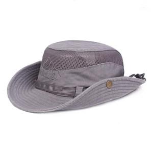 Geniş Brim Şapkalar Balıkçı Şapka Erkek Balıkçılık Açık Güneş Kremi Pamuk Kadın Hiking1