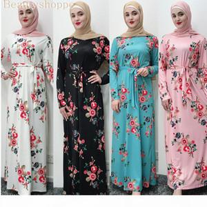 Bandage Muslim Dress Women Hijab Abaya Turkey Moroccan Black White Pink Blue Dubai Bangladesh Kaftan Turkish Islamic Clothes