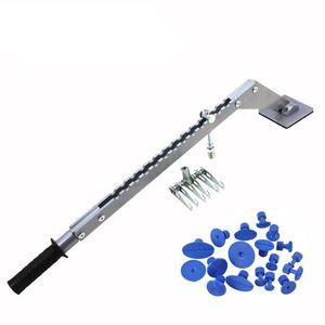 Dent Pull Bar Tragbare Multi-Haken Puller Single Leg Leveling Bar Auto-Reparatur-Spot-Lever Puller 6 Finger-Greifer-Lifter