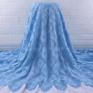 Zhenguiru Latest French Nigerian Lace Fabric High Quality African Lace Fabric For Wedding Stones Embroidery Mesh A18841