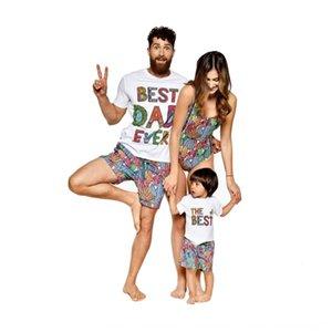 Spring Summer 2020 swim new Cactus swimsuit parent-child suit