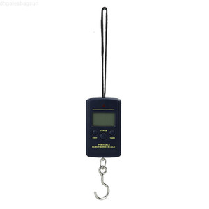 40kg Mini Digital for Fishing Luggage Travel Weighting Steelyard Hanging Electronic Hook Scale Kitchen Weight Tool