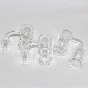 Top quality Handmade Terp Vacuum Quartz Banger Domeless Terp Slurper Up Oil Banger Nail with Bucket 25mm Bottom for Glass Bong Oil Rigs