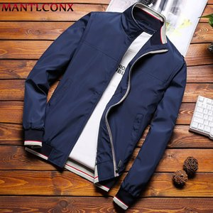 Mantlconx Плюс Размер M-8XL Повседневная Мужчины Весна Осень Куртки мужские куртки и пальто Мужской Куртка мужская одежда марка