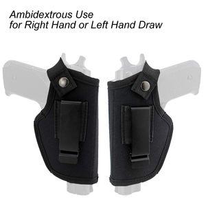 Tactical Gun Holster Concealed Carry Holsters Belt Metal Clip IWB OWB Holster Airsoft Gun Bag for All Sizes Handguns