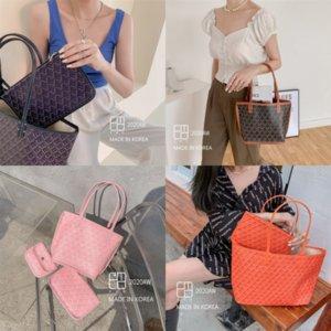 Dwp Korean shopping emo designer upgraded dogtooth Graffiti basket mummy bag luxury shopping bag large Korean capacity fashion