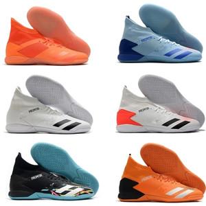 2020 Raubtier 20.3 High Knle Herren TF Football Boots Soccer Cleats Indoor Leder Trainer Turf Socken Fußballschuhe