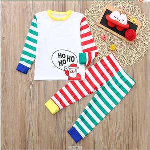 Hristmas Famille Association Pyjamas Kid Baby Famille Matchint Tenues Pajamas Deer Romper Famille Look Jumpsuits EWF3822