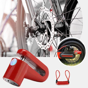 Anti Theft Brake Disc Lock M365 Scooter Bike Bicycle Wheel Skateboard Wheels Lock Disc Brake Kickscooter Supplies1