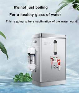 70L / 220V Automatique Chaudière à eau électrique à bouillir de bouillie purifiant et filtrant Machine d'eau bouillante chauffe-eau commercial pour la boutique de thé au lait
