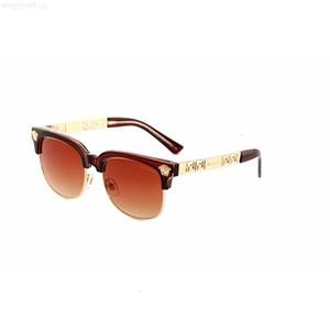 Neue 2019 Mode Klassische Vinatge 2166 Runde Stil Sonnenbrille Männer Frauen Marke Design Sonnenbrille Oculos de Sol Gafas
