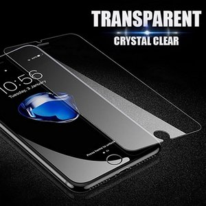 For New iPhone XR X XS Max 12 11 7 8 Tempered Glass Screen Protector Anti-scrach Cell Phone Film Paper Package