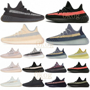 enfant yeezy yeezys yezzy yezzys 350 v2 boost  Kanye West Men Women Running Shoes Yecheil Zebra Blue Tint Static Desert Sage Earth Sports Outdoor Shoe