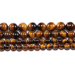1 Equipado lote 4 6 8 10 12 milímetros de pedra natural tigre ágatas ângulos redondos grânulos soltos espaçador talão para jóias fazendo bracelete de colar DIY H Bbynbo