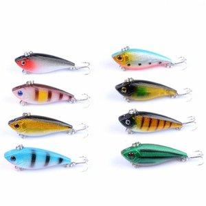 1 stücke 6,6 g 5 cm lebensechte vib angelköder pesca haken fisch wobbler eignung crankbait künstlich japan harten köder plas jlljld