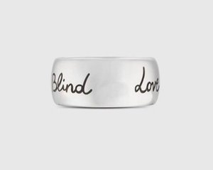 Have stamps love rings for lady mens and women Party engagement wedding jewelry With box for cuples gift