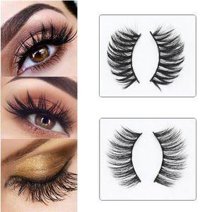 5 Pairs Natural False Eyelashes Fake Lashes Long Makeup 3D Mink Eyelashes Eyelash Extension Cosmetics Tool For Beauty