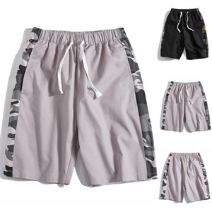 New men's camouflage shorts casual men's knee length men's summer shorts beach camouflage pants